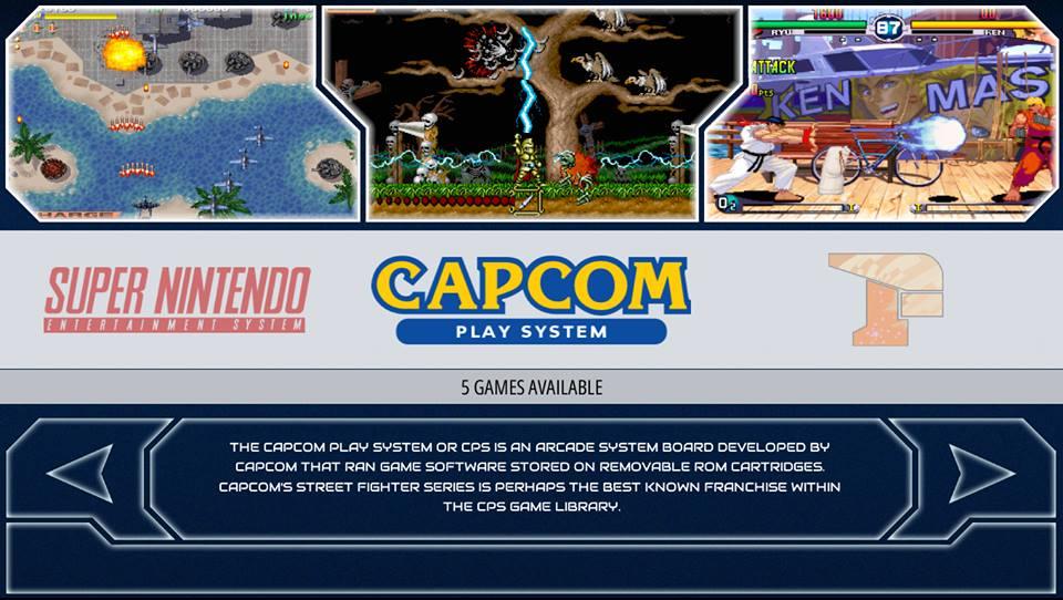 RetroPie Capcom System ins Menü einpflegen – Freddys Linux Blog